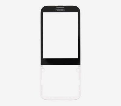ND Nokia 225 kryt přední white/bílá