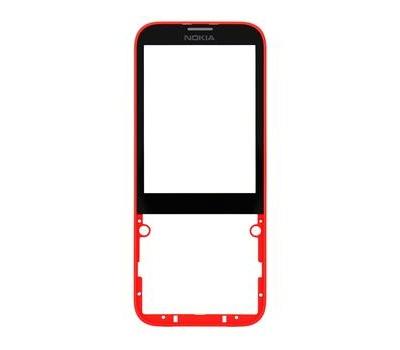 Kryt přední Nokia 225 red/červený