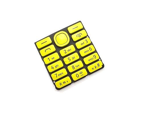 Klávesnice Nokia 206, yellow/žlutá
