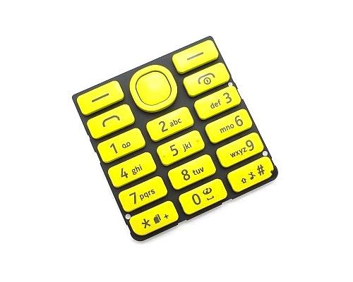 Klávesnice Nokia 206 DS, yellow/žlutá