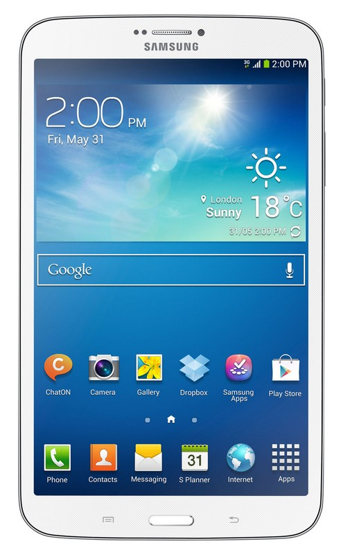 Samsung Galaxy Tab 3 8.0 3G 16GB White