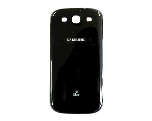 Kryt baterie Samsung i9300 Galaxy S III, sapphire black/černý, logo LTE