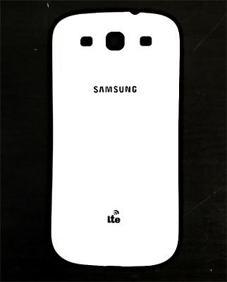 Kryt baterie Samsung i9300 Galaxy S III Ceramic White/bílý, logo LTE