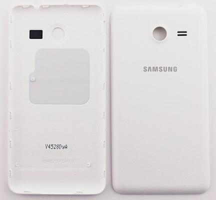 Kryt baterie Samsung G355 Galaxy Core 2 white/bílý