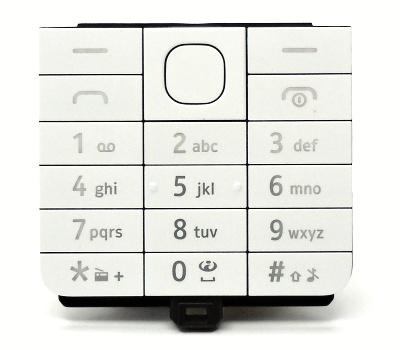 Klávesnice Nokia 220, white/bílá SS