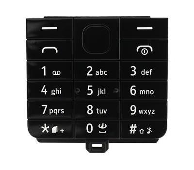 Klávesnice Nokia 220, black/černá DS