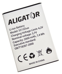 Baterie Aligator pro Aligator S515 Duo Li-Ion 2000 mAh (Bulk)