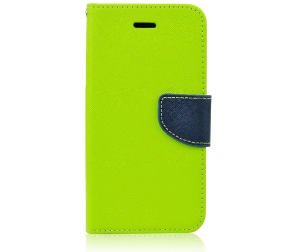 Pouzdro na mobil pro Sony Xperia M4 Aqua (E2303) limetkovo-modré