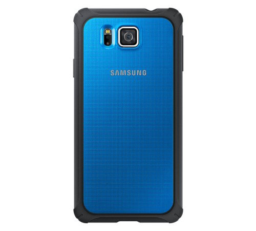 Originální zadní kryt EF-PG850BLE na Samsung Galaxy Alpha (G850) modrý (BLISTR)