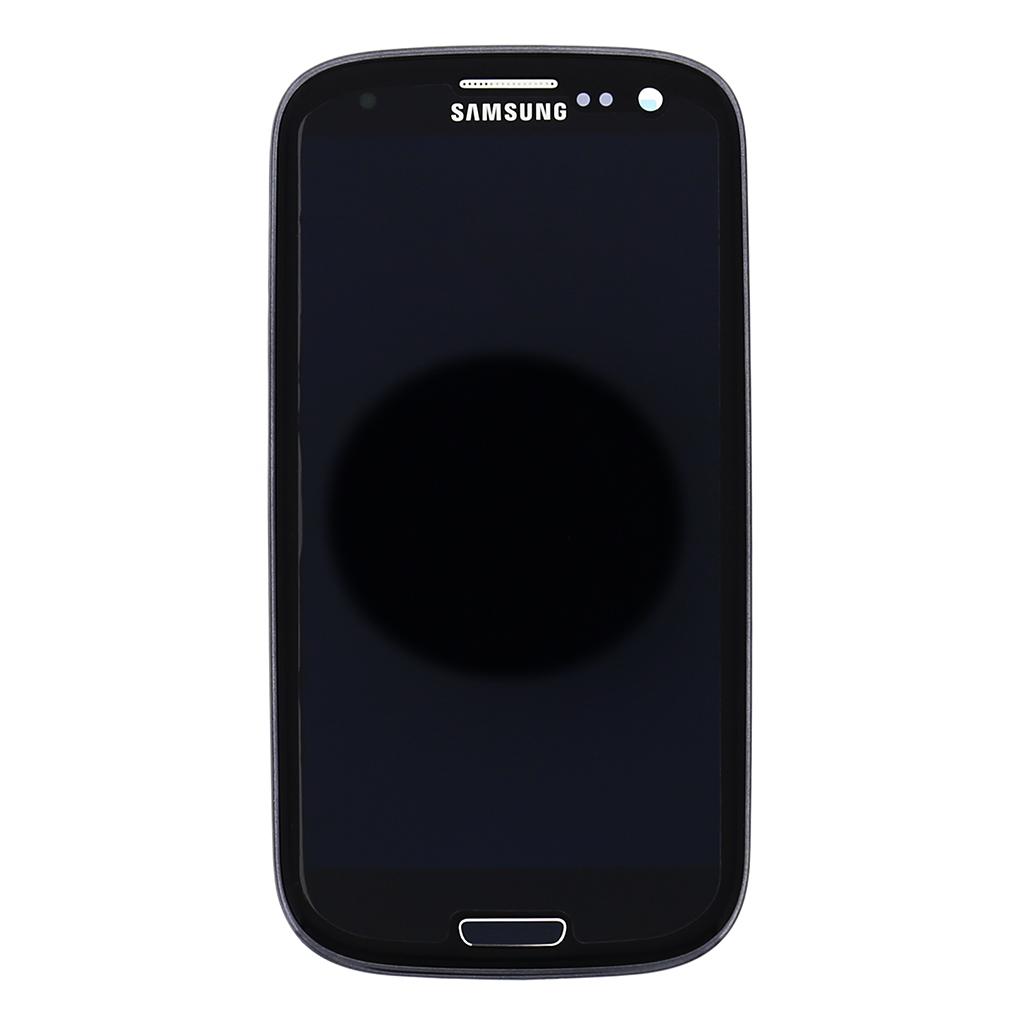 LCD display + dotyk.deska + př. kryt pro Samsung Galaxy S3 Neo (i9301), (Service pack) černá