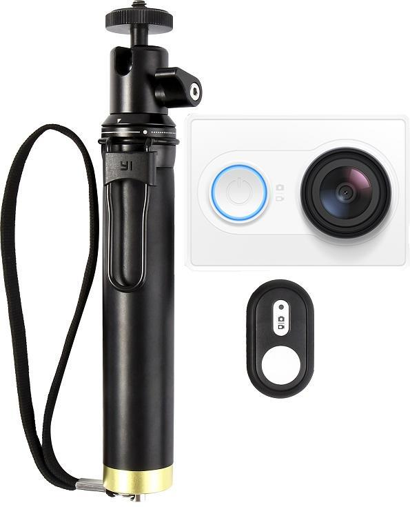 Akční kamera Xiaomi YI TRAVEL edition (+ selfie tyč)