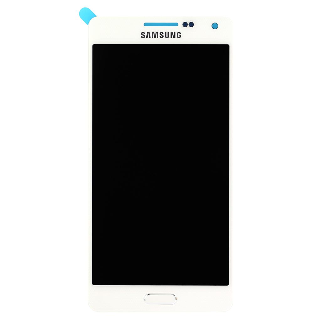 LCD display + dotyk. deska pro Samsung Galaxy A5 (A500F), bílá