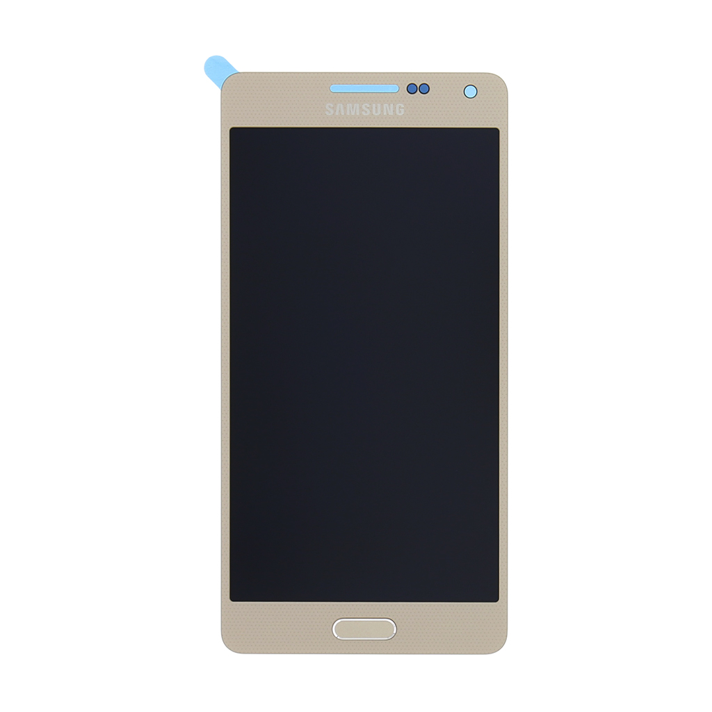 LCD display + dotyk. deska pro Samsung Galaxy A5 (A500F), zlatá