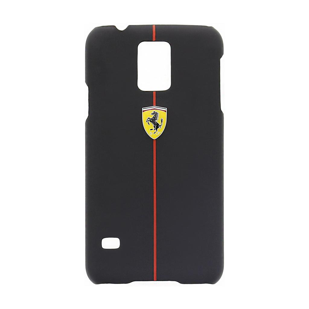 Zadní kryt FEFORHCS5BL Formula1 pro Samsung Galaxy S5 (G900), Black Rubber