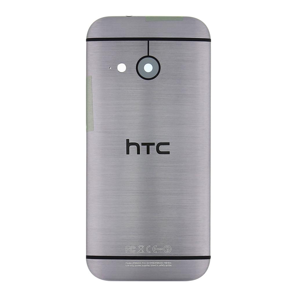 Zadní kryt pro HTC ONE M8 mini, Dark Grey
