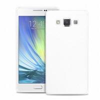 """Zadní kryt Puro ULTRA-SLIM """"0,3"""" pro Samsung Galaxy A3 s fólií na displej čiré"""