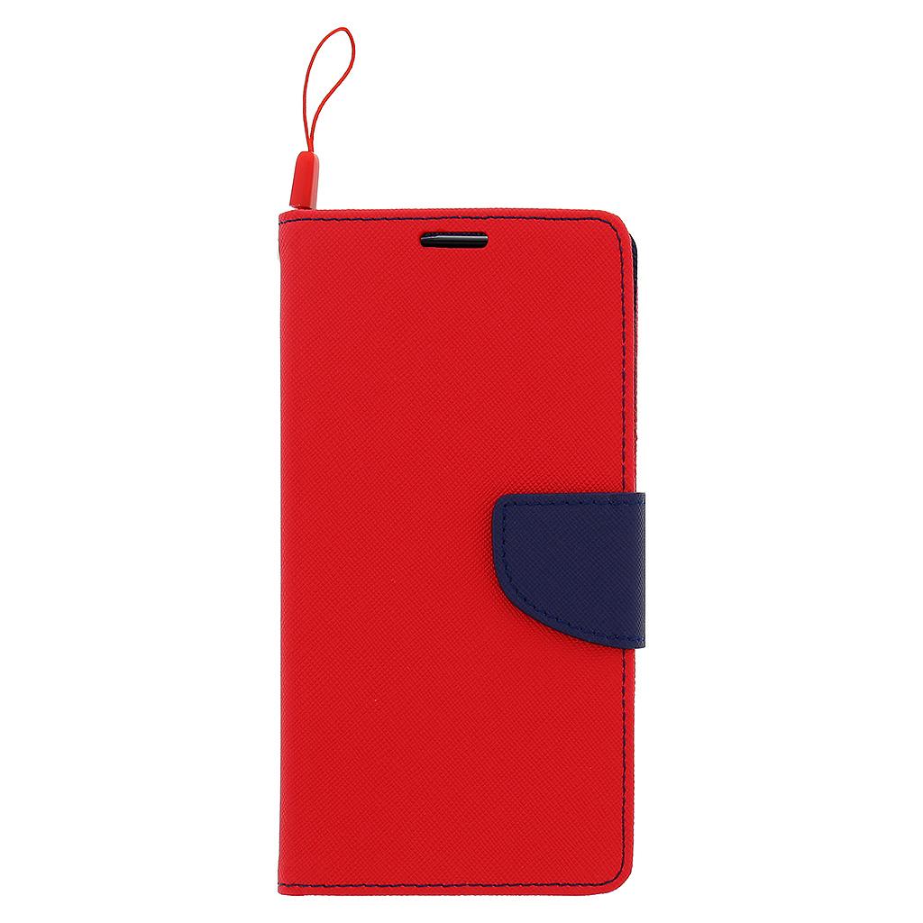 Flipové pouzdro pro Lenovo A536 Fancy Diary, červeno/modré