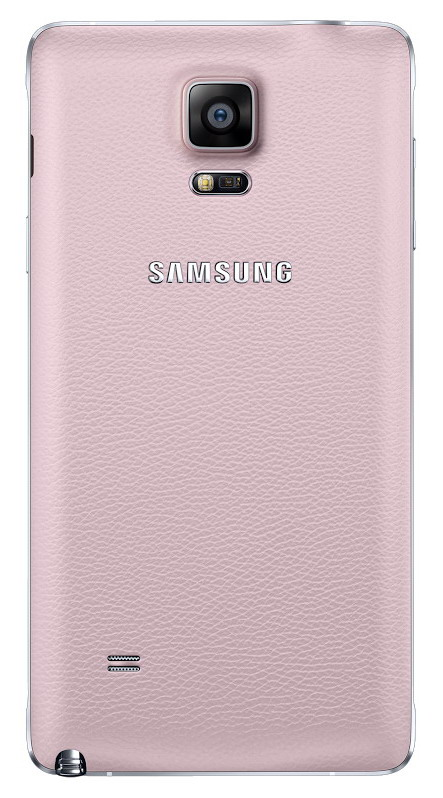 Zadní kryt EF-ON910SPE pro Samsung Galaxy Note 4, Pink (EU Blister)