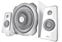 TRUST Reproduktory 2.1 Tytan Subwoofer Speaker Set - white, bílé