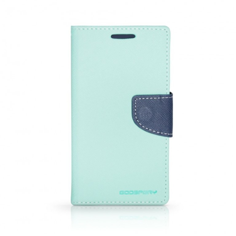 Flipové pouzdro pro LG H960A V10 Mercury Fancy Diary mentolovo/modré