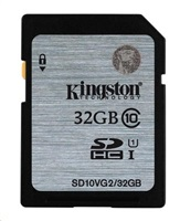 Paměťová SDHC karta Kingston 32GB Class 10