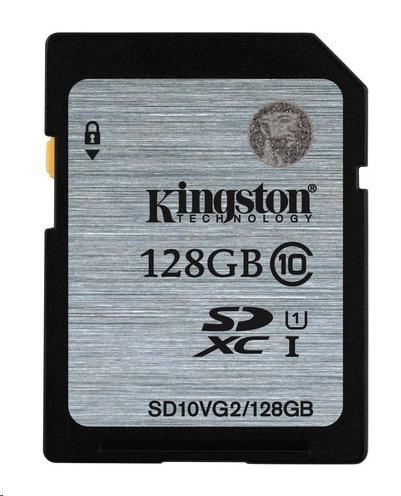 Paměťová SDHC karta Kingston 128GB Class 10