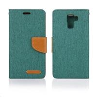 Aligator pouzdro BOOK FANCY pro Huawei P8 Lite, zelená