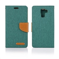 Aligator pouzdro BOOK FANCY pro Samsung Galaxy J5, zelená