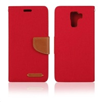 Aligator pouzdro BOOK FANCY pro Huawei Honor 7, červená