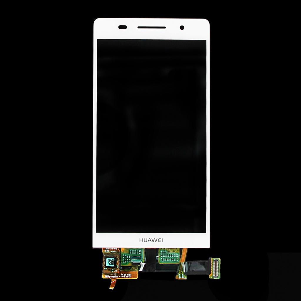 LCD display + dotyk. deska pro Huawei Ascend P6, bílá