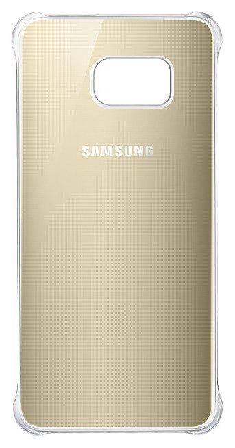 Zadní kryt EF-QG935CFE Clear Gold pro Samsung Galaxy S7 Edge