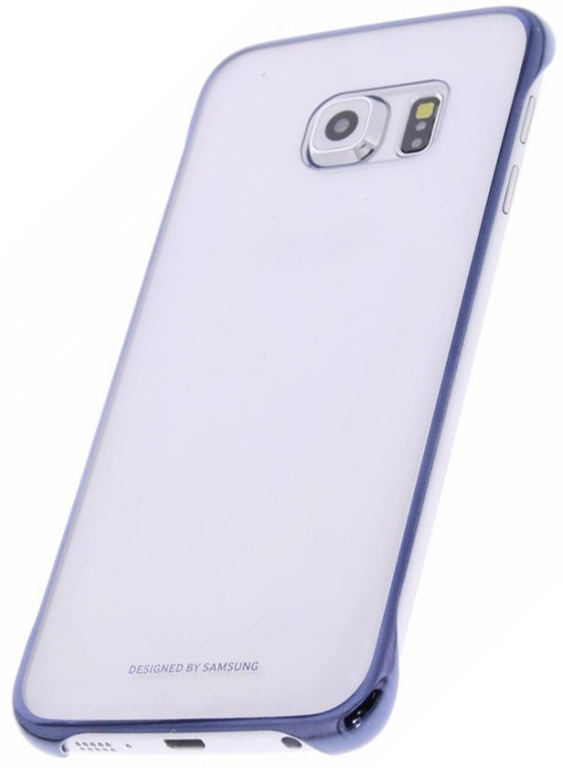 Zadní kryt EF-QG930CBE Clear Black pro Samsung Galaxy S7