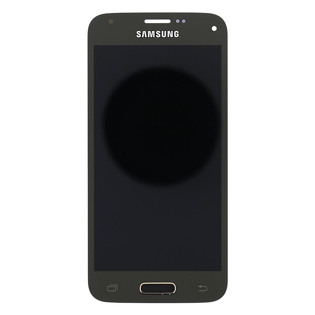LCD display + dotyk. deska pro Samsung Galaxy S5mini (G800), zlatá