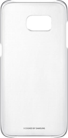 Zadní kryt průsvitný pro Samsung Galaxy S7 Edge (G935), stříbrný