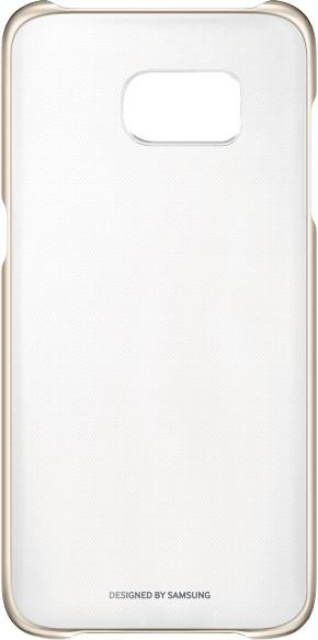 Zadní kryt průsvitný pro Samsung Galaxy S7 Edge (G935), zlatý