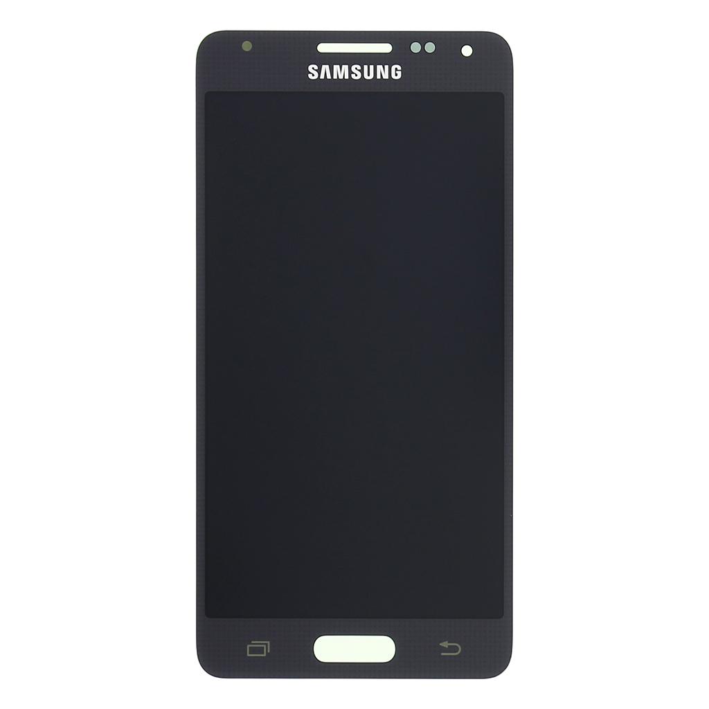 LCD display + dotyk. deska pro Samsung Galaxy Alpha (G850), černá