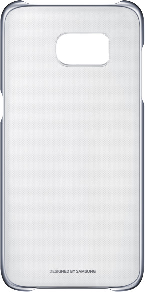 Zadní kryt průsvitný pro Samsung Galaxy S7 Edge (G935), černý