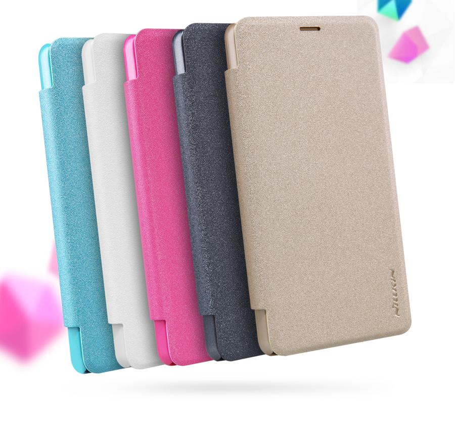 Pouzdro Nillkin Sparkle Folio na Nokia Lumia 550 bílé