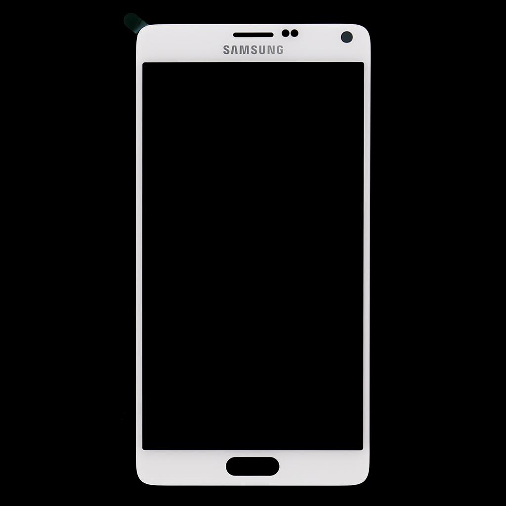 LCD display + dotyk. deska pro Samsung Galaxy Note4 (N910F), bílá