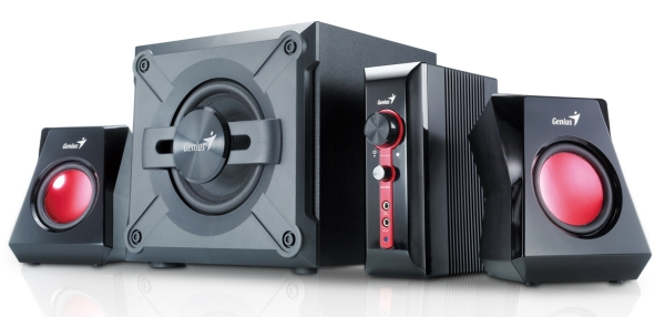 Speaker GENIUS SW-G2.1 1250 38W gaming
