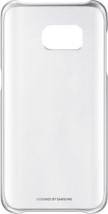 Zadní kryt Clear Cover pro Samsung S7 (G930) stříbrný