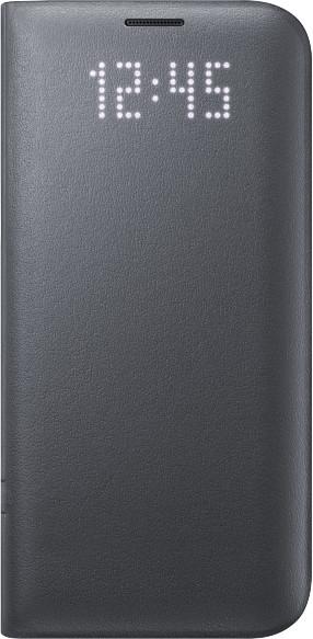 Flipové pouzdro LED View Cover pro Samsung Galaxy S7 Edge černé