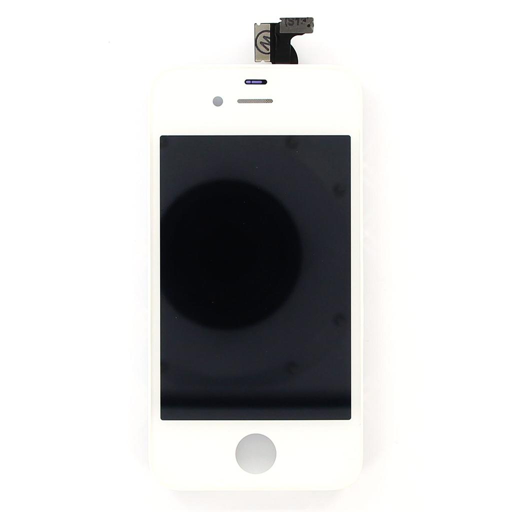 LCD display + dotyk. deska pro iPhone 4S, bílá (OEM)