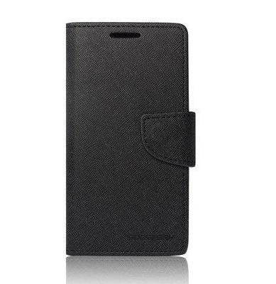 Flipové pouzdro pro Huawei Mate 8 Fancy Diary Folio, černé