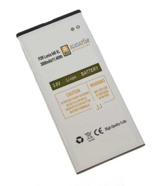 Baterie Aligator BV-T4B pro Microsoft Lumia 640XL Li-Ion, 3000 mAh