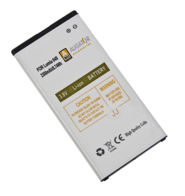 Baterie Aligator BV-T5C pro Microsoft Lumia 640 Li-Ion, 2300mAh