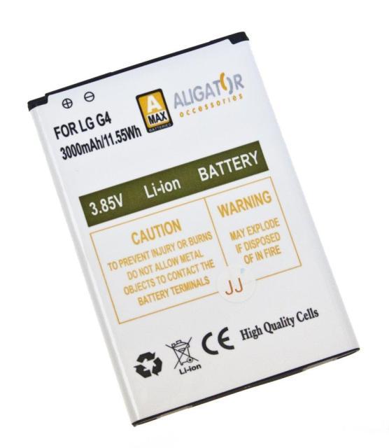 Baterie Aligator BL-51YF pro LG G4 Li-Ion, 3000 mAh