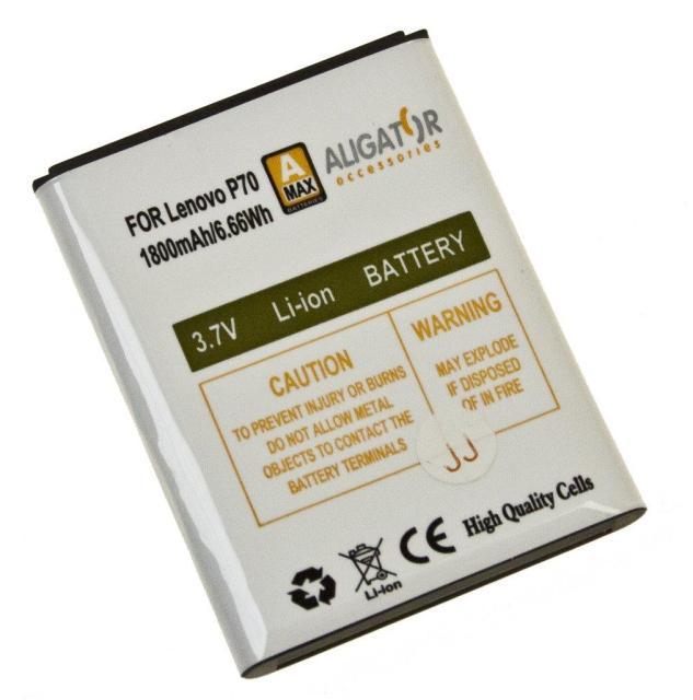 Baterie Aligator BL169 pro Lenovo P70 Li-Ion, 1800mAh