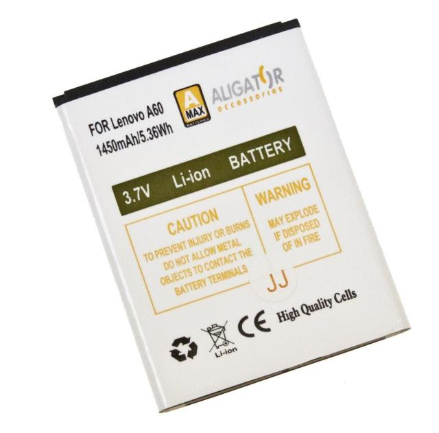 Baterie Aligator BL171 pro Lenovo A356/368/390, 1450mAh