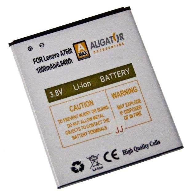 Baterie Aligator BL219 pro Lenovo A768/A889/A916, 1800mAh
